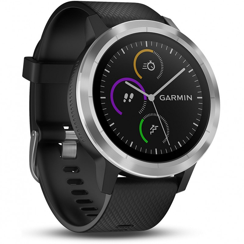 Đồng hồ GPS Garmin Vivoactive 3 with Stainless Hardware 1