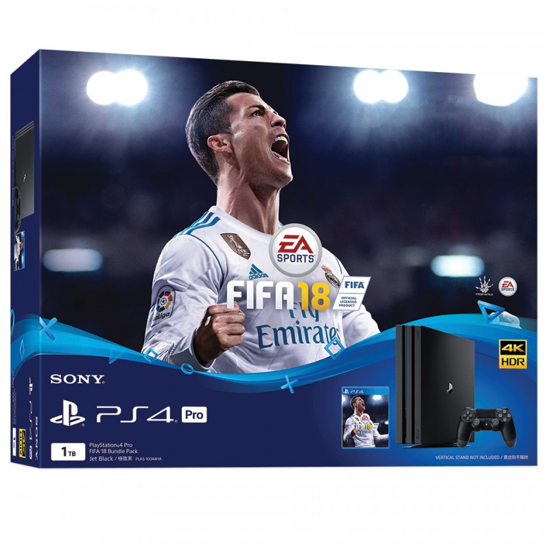 Sony PlayStation 4 Pro Limited Edition 4K 1TB: FiFa18 Bundle (CUH-7106B B01)