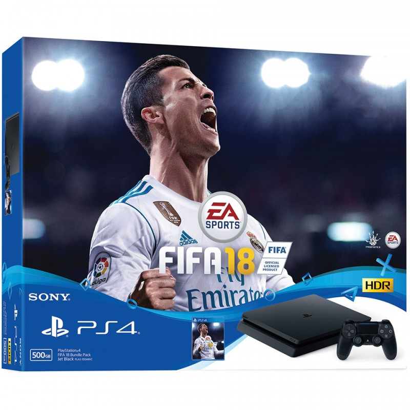 Sony PlayStation 4 Limited Edition 500GB: FiFa18 Bundle 3