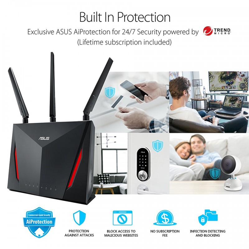 Asus Wireless Router RT-AC86U 3