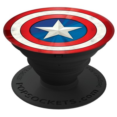 PopSockets Captain America Shield Icon 101772