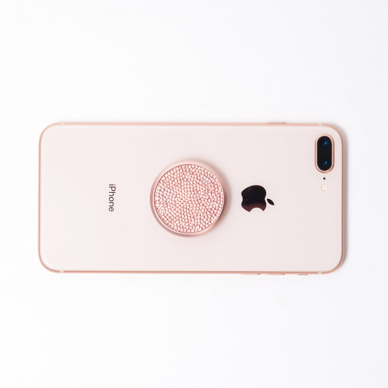 PopSockets Swarovski Edition Rose Crystal 100004 5