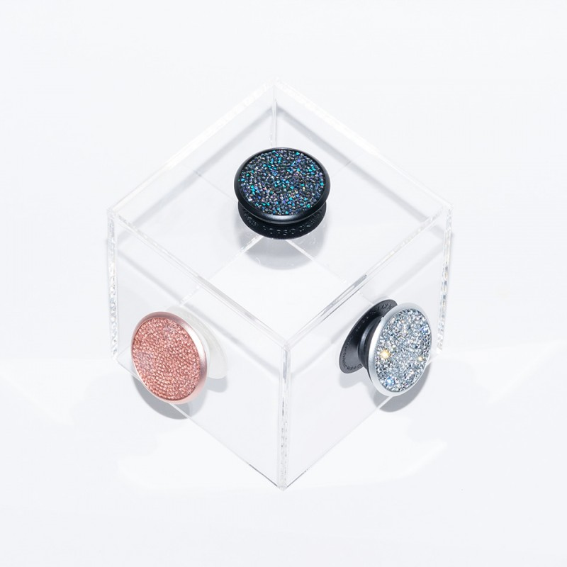 PopSockets Swarovski Edition Rose Crystal 100004 7