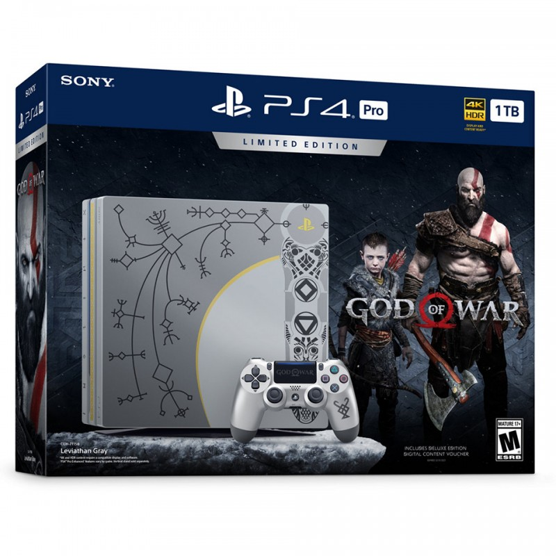 Sony PlayStation 4 Pro GOD of WAR - LIMITED EDITION (CUH-7106B BZLX)