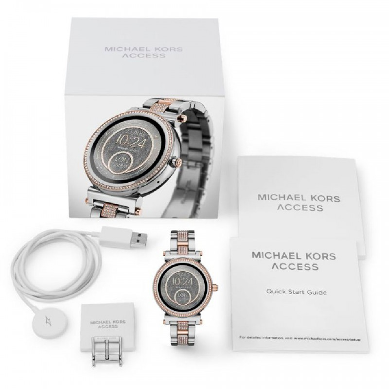 Michael Kors Access Sofie Pave Two-Tone Smartwatch MKT5040 6