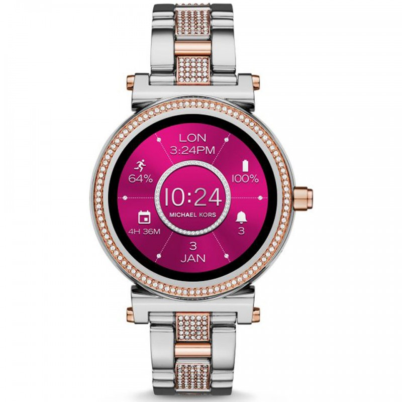 Michael Kors Access Sofie Pave Two-Tone Smartwatch MKT5040 4