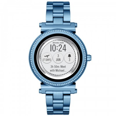 Michael Kors Access Sofie Blue Touchscreen Smartwatch MKT5042