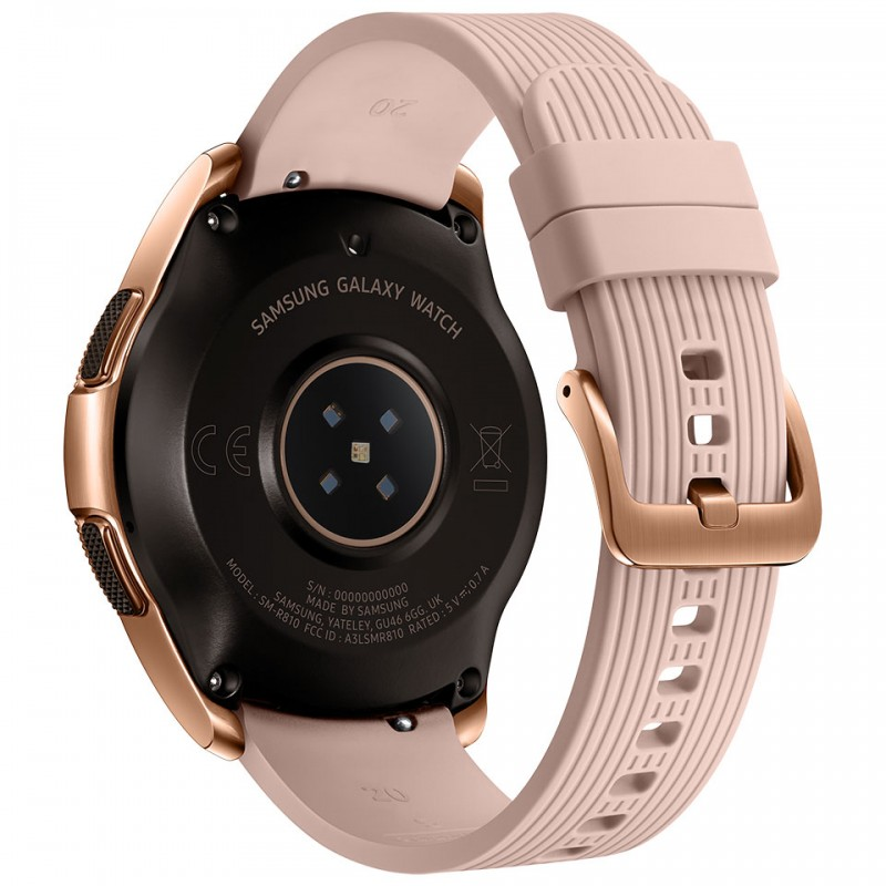 Samsung Galaxy Watch 42mm Bluetooth Rose Gold (SM-R810) 4