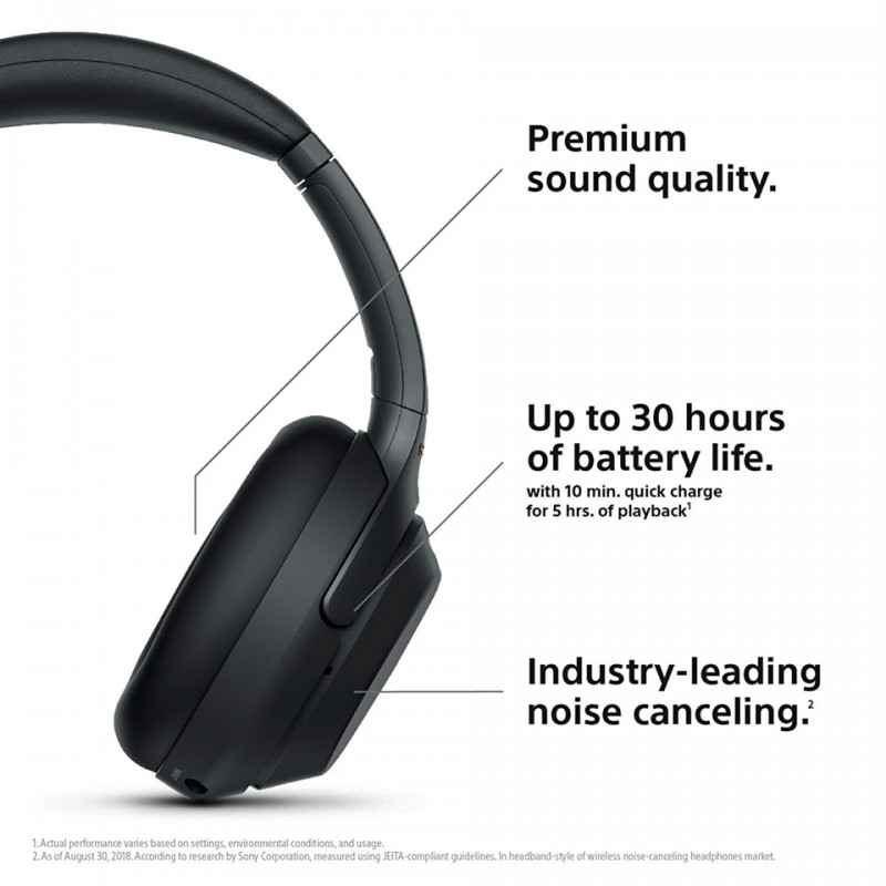Tai nghe Hi-Res Sony WH-1000XM3 Wireless Noise Cancelling 7