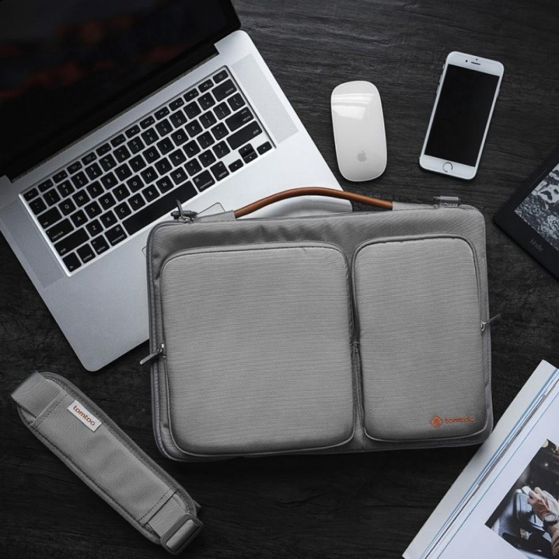 Túi đeo vai Tomtoc Shoulder Bag cho Macbook 15 inches A42-E02 / A42-D01 5