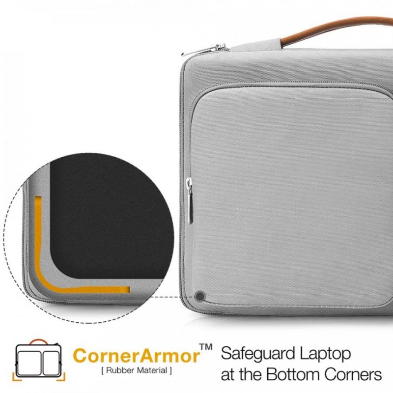 Túi đeo vai Tomtoc Shoulder Bag cho Macbook 15 inches A42-E02 / A42-D01 3