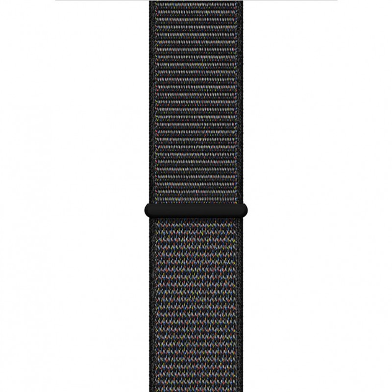 Apple Watch Series 4 44mm Space Gray Aluminum Case with Black Sport Loop (GPS) MU6E2VN/A 3