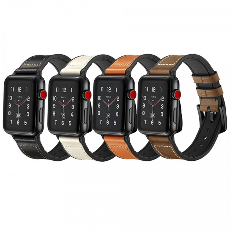 Dây đeo cho Apple Watch 42mm/44mm Jinya Hero Leather Band 1
