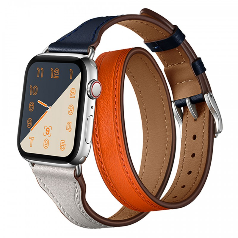 Dây đeo cho Apple Watch 42mm/44mm Jinya Magical Leather Band 1