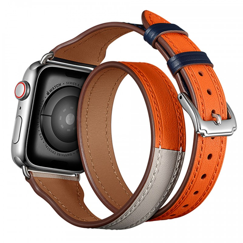 Dây đeo cho Apple Watch 42mm/44mm Jinya Magical Leather Band 4