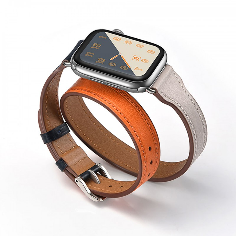 Dây đeo cho Apple Watch 42mm/44mm Jinya Magical Leather Band 6