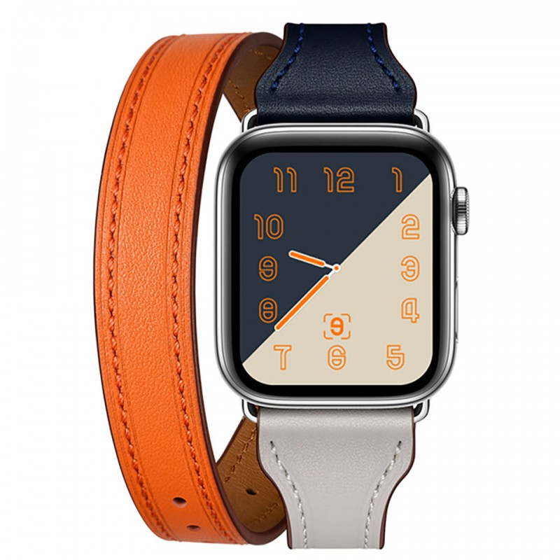 Dây đeo cho Apple Watch 42mm/44mm Jinya Magical Leather Band 3