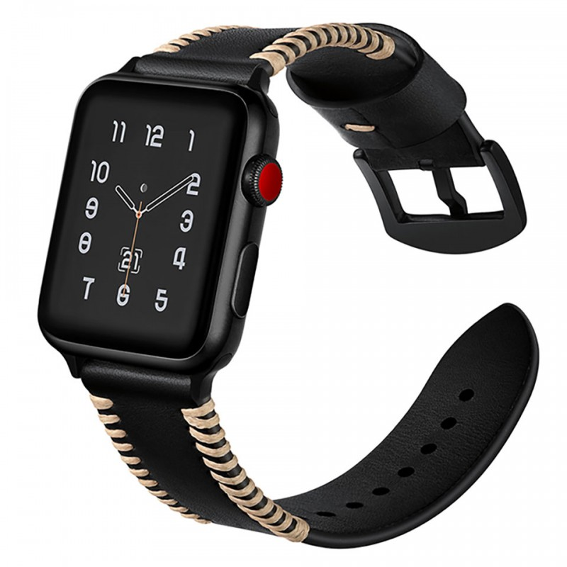 Dây đeo cho Apple Watch 38mm/40mm Jinya Style Leather Band 2