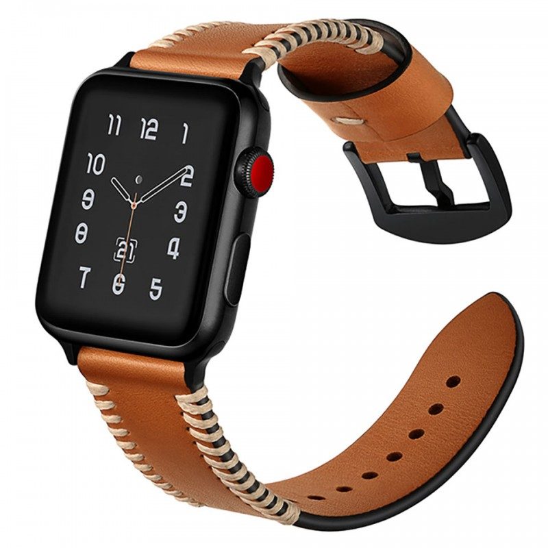 Dây đeo cho Apple Watch 38mm/40mm Jinya Style Leather Band 5