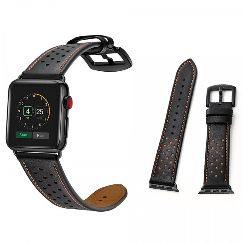 Dây đeo cho Apple Watch 38mm/40mm Jinya Vogue Leather Band 4