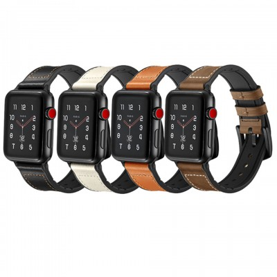 Dây đeo cho Apple Watch Jinya Hero Leather Band