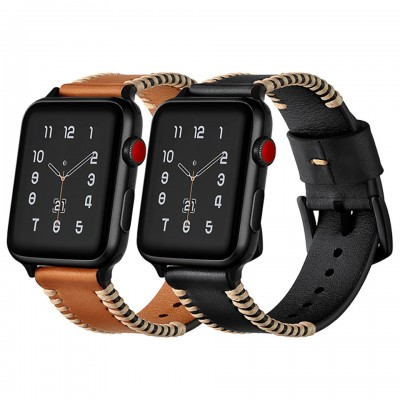 Dây đeo cho Apple Watch Jinya Style Leather Band