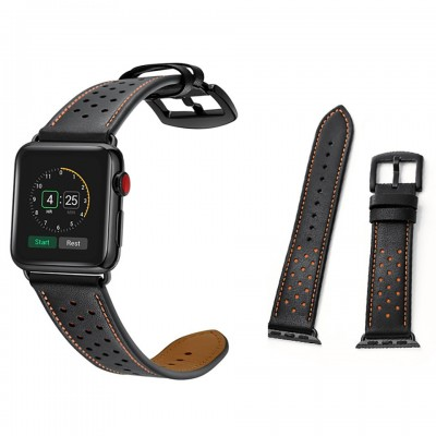 Dây đeo cho Apple Watch Jinya Vogue Leather Band 42mm/44mm