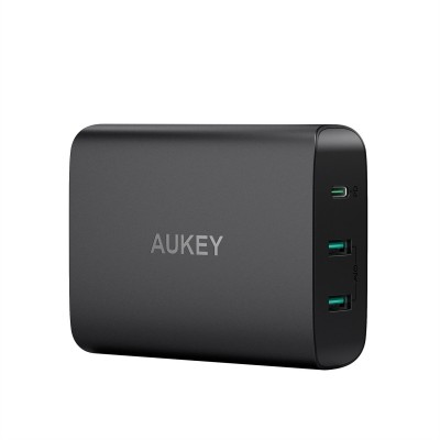 Adapter Aukey PA-Y12 Công Suất 60W Power Delivery 2.4A