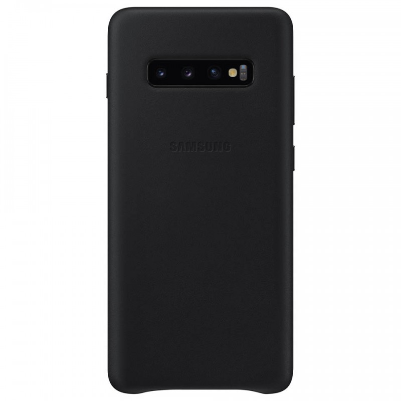 Ốp lưng da thật Leather Cover Galaxy S10+ EF-VG975 2