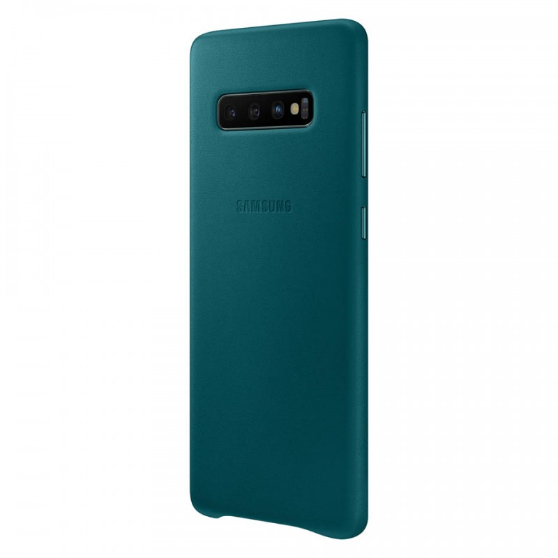 Ốp lưng da thật Leather Cover Galaxy S10+ EF-VG975 11