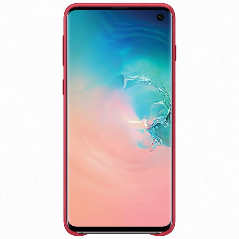Ốp lưng da thật Leather Cover Galaxy S10+ EF-VG975 15
