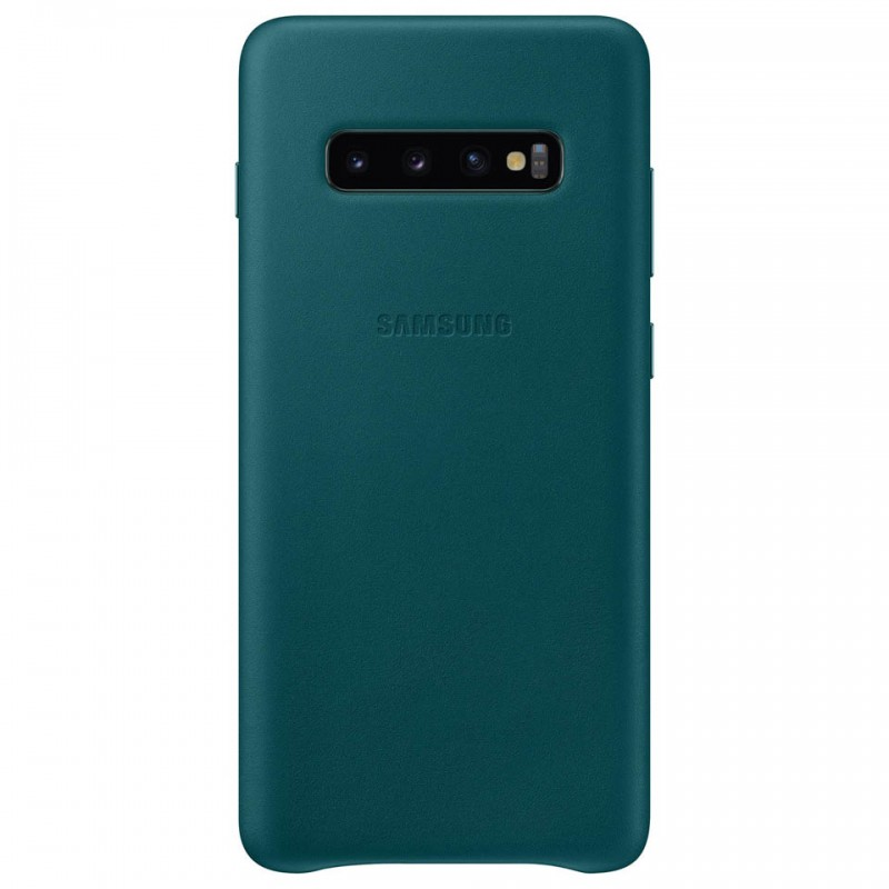 Ốp lưng da thật Leather Cover Galaxy S10+ EF-VG975 10