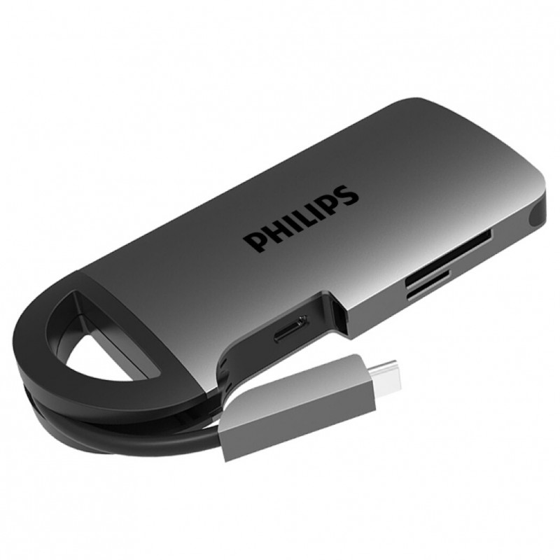HUB USB-C 8-in-1 Philips SWR1606A/93 PL5082 1