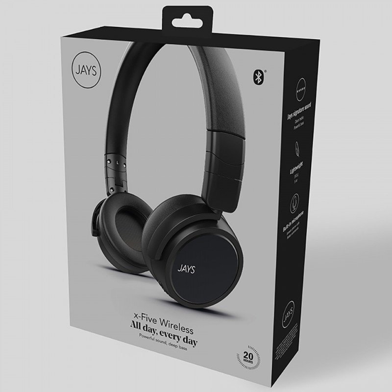 Tai nghe Bluetooth Jays x-Five Wireless