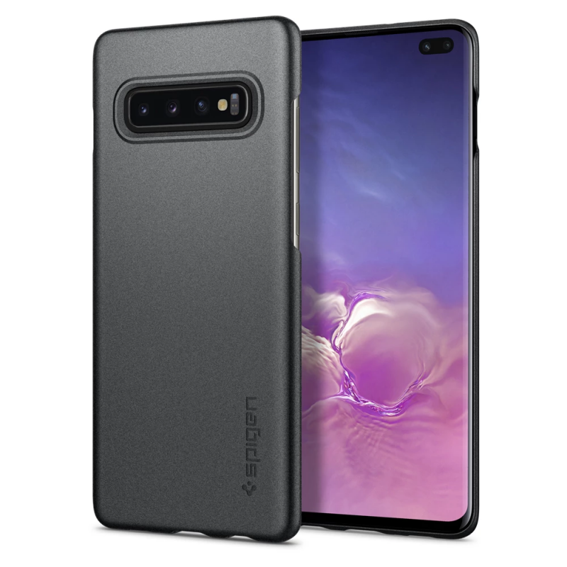 Ốp lưng cho Galaxy S10+ Spigen Thin Fit