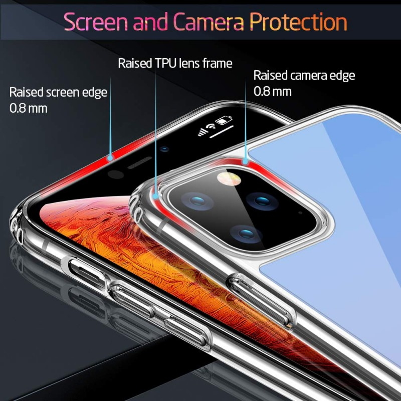 Ốp lưng cho iPhone 11 Pro Max ESR Ice Shield Mimic Tempered 5