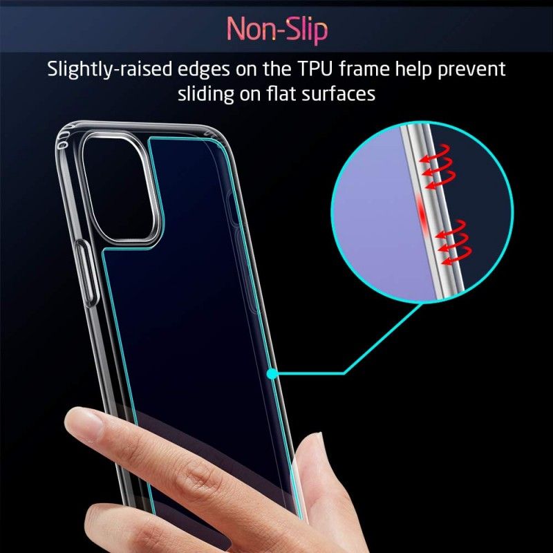 Ốp lưng cho iPhone 11 Pro Max ESR Ice Shield Mimic Tempered 7