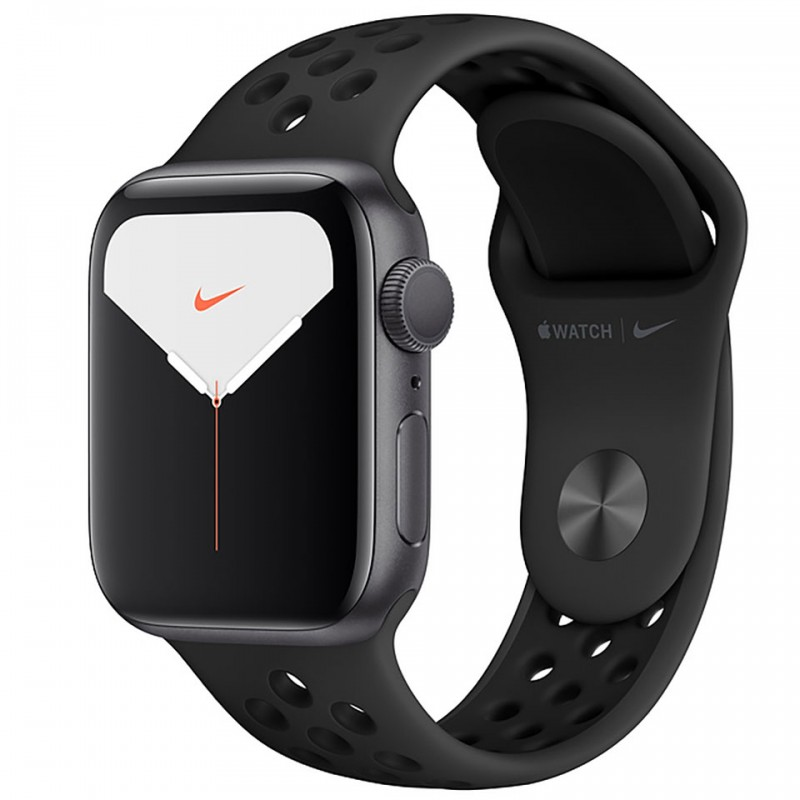 Apple Watch Nike Series 5 GPS 44mm Space Grey Aluminium Case with Anthracite/Black Nike Sport Band MX3W2VN/A