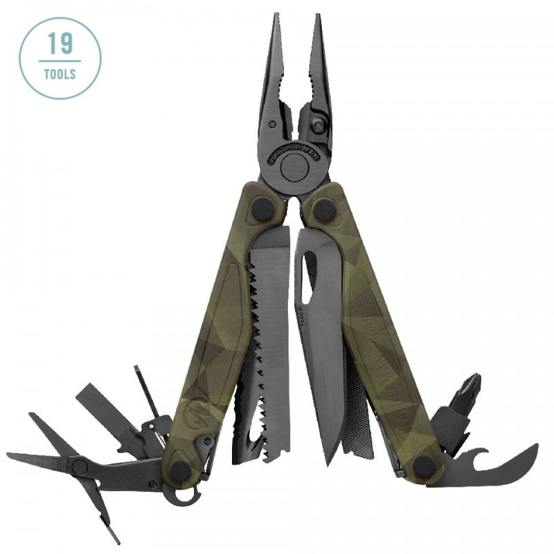 Dụng cụ đa năng Leatherman Charge+ Forest Camo 1