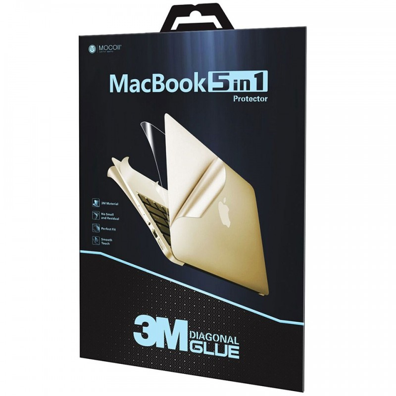 Bộ Full Mocoll 5-in-1 cho MacBook Pro 16 inches 2020 MOC6741/MOC6758 3