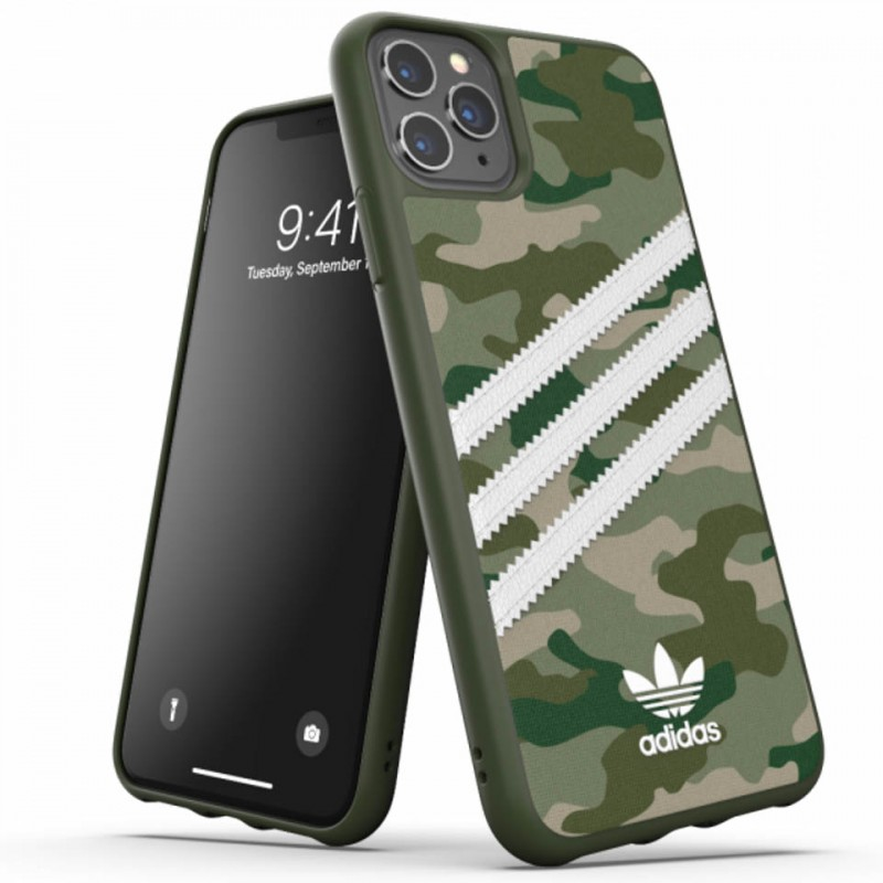 Ốp lưng cho iPhone 11 Pro Max Adidas 3-Stripes Camo Snap 36376