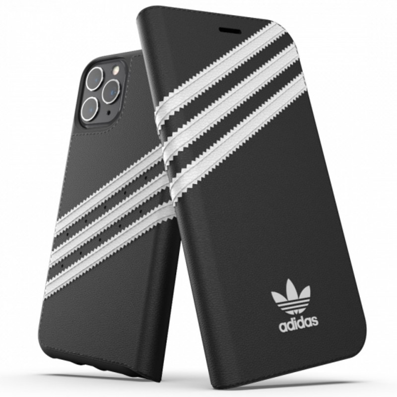 Ốp lưng cho iPhone 11 Pro Adidas 3-Stripes Booklet 36539