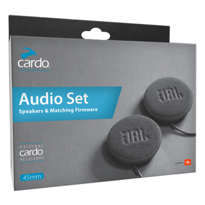 Cardo 45mm JBL Audio Speaker Set