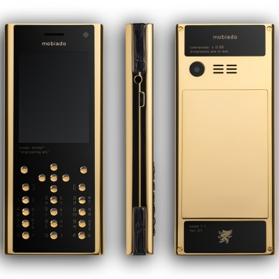Mobiado Forma Gold - Black