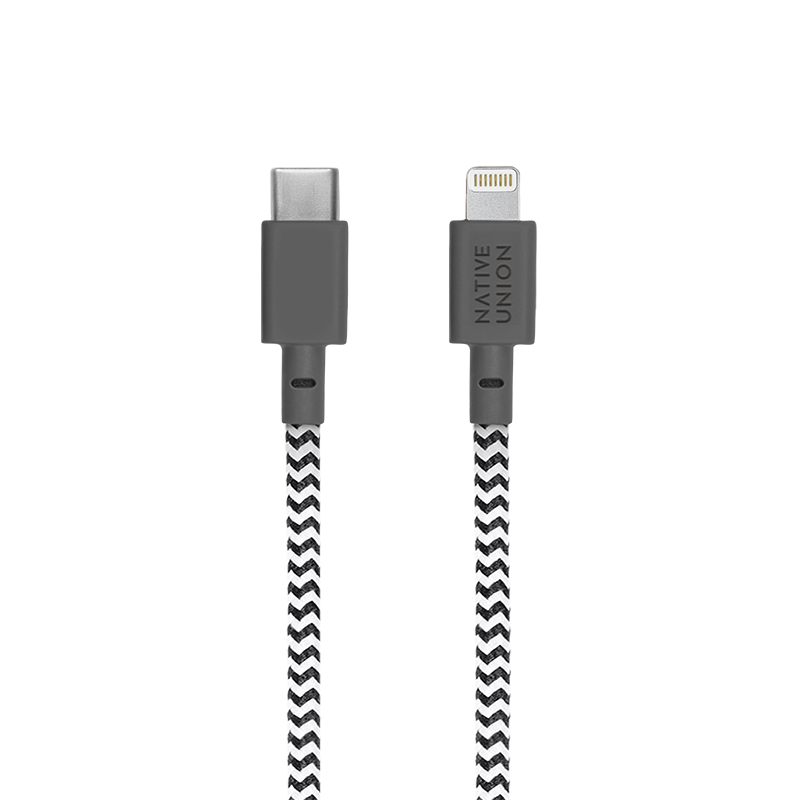 Cáp sạc USB-C to Lightning Native Union Night 3m 2
