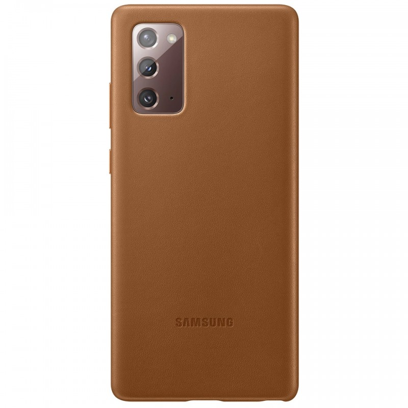 Ốp lưng Leather Cover Galaxy Note20 EF-VN980 8