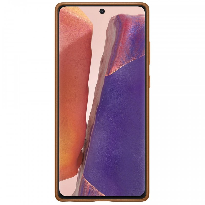 Ốp lưng Leather Cover Galaxy Note20 EF-VN980 10