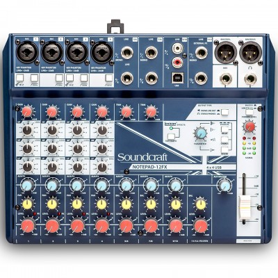 Mixer Soundcraft Notepad-12FX