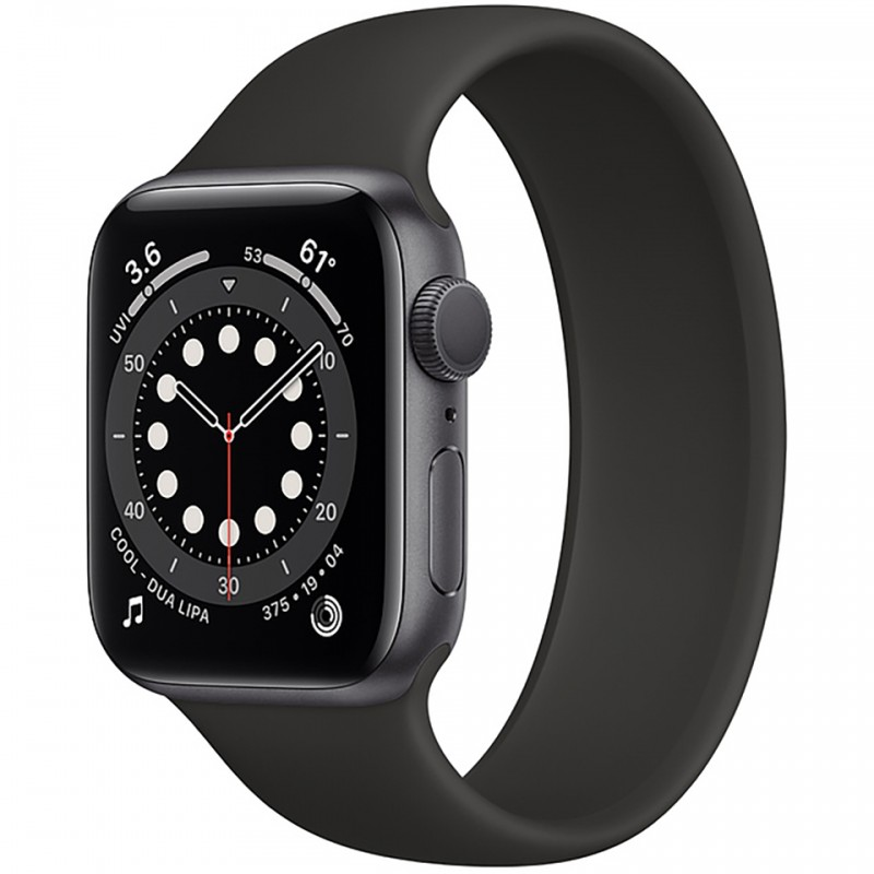 Apple Watch Series 6 GPS 44mm Space Grey Aluminum Case with Black Loop Band M00H3VN/A