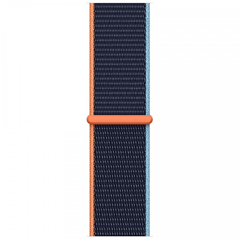 Apple Watch Series 6 GPS 40mm Blue Aluminum Case with Deep Navy Sport Loop Band MG143VN/A 3